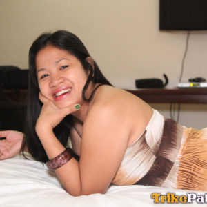 Smiling Mature Asian Lady