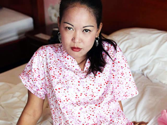 Filipino Maid Mitch in anal sex video
