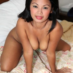 Pretty Filipina Josey has wonderfully hairy pussy