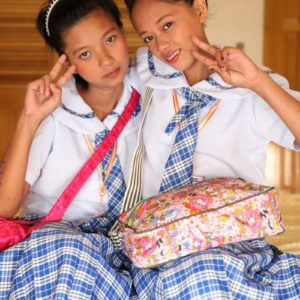 Asian Lesbian School Girls Sally and Nica