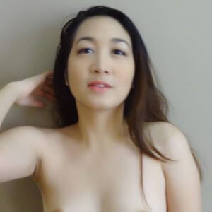 All natural Asian beauty