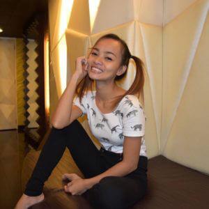 Skinny Filipina Teen Seina on Trike Patrol