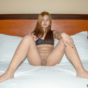 Young Filipina Girl spreading legs
